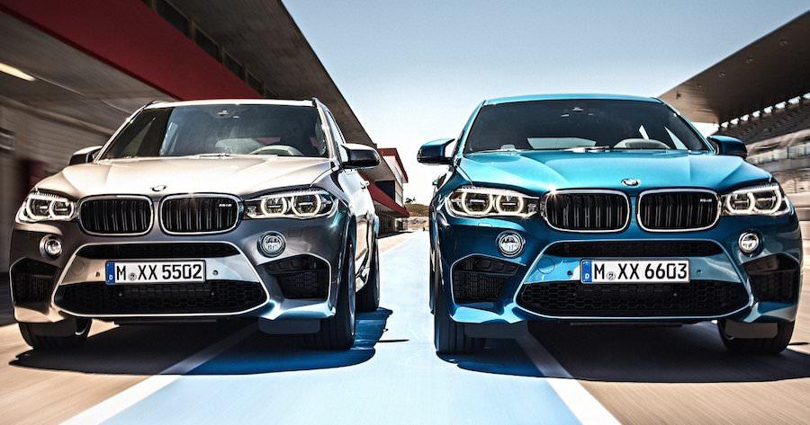 2015年モデルの新型 BMW「X5M」と「X6M」