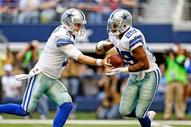 Brandon Weeden DeMarco Murray Dallas Cowboys