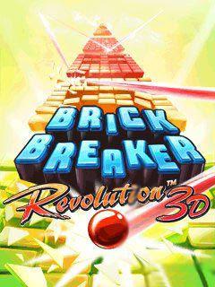 Screenshots of the Break Breaker: Revolution 3D for java mobile, phone.
