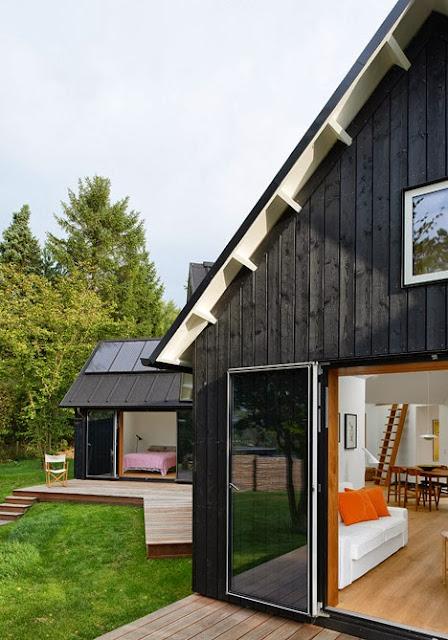 Dänisches Design fürs lichtdurchflutete Wohnen