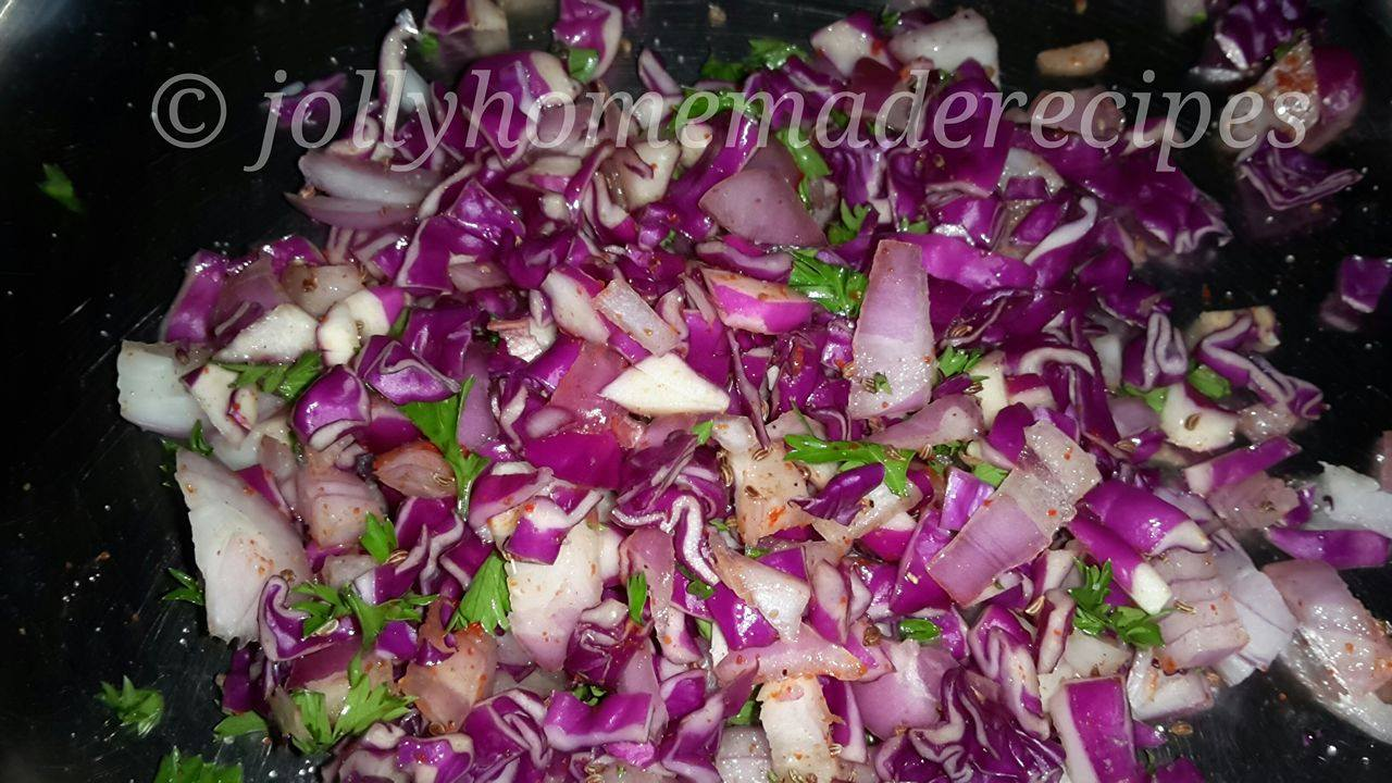 how to cook purple cabbage