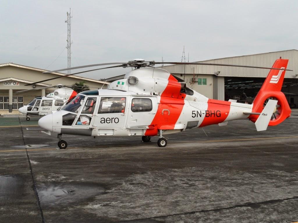 enugu seized aero helicopter