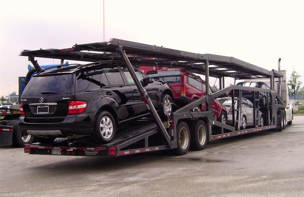 El transporte de vehículos por carretera
