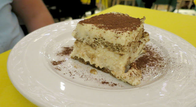 Marbella Spain Summer Holiday Food Dessert Tiramisu Italian