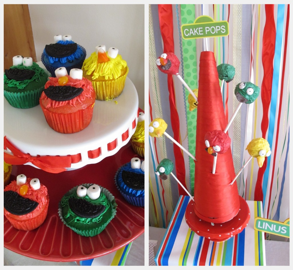 Linus' Sesame Street Party: Food