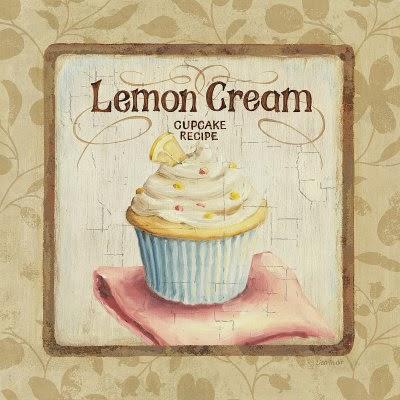 Cupcake de Limon y crema