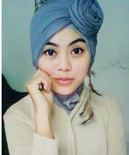 Cara Memakai Jilbab Turban Polos
