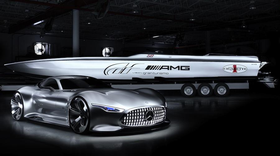 メルセデスベンツAMG×グランツーリスモ6の高級ボートが登場!