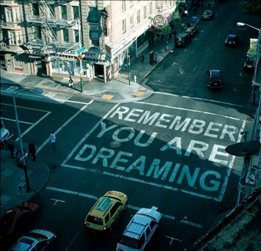 Recuerda que estás soñando