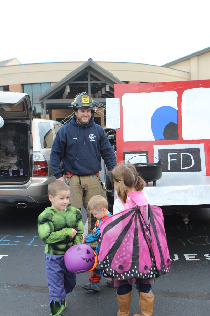 Trunk or Treat Idea Firetruck