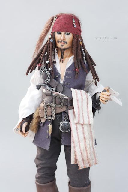 1/6 scale doll Captain Jack Sparrow