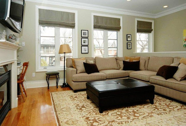 Decorating ideas for small living rooms with tv for Simple family room ideas