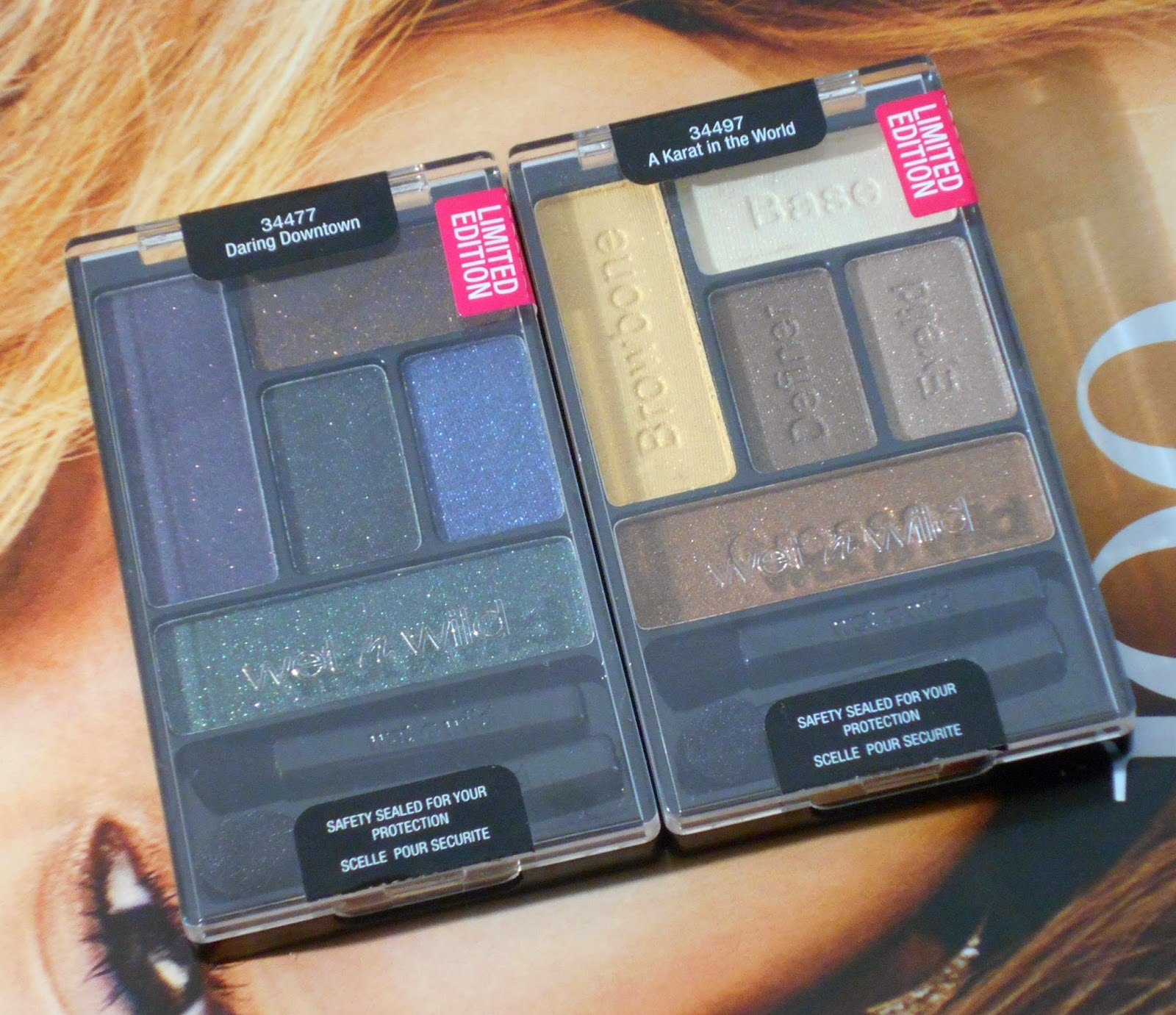 Wet n Wild Halloween 2014 Eyeshadow Palettes! (Limited Edition!)