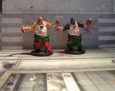 Zombicide Survivor Zombie Fatty painted