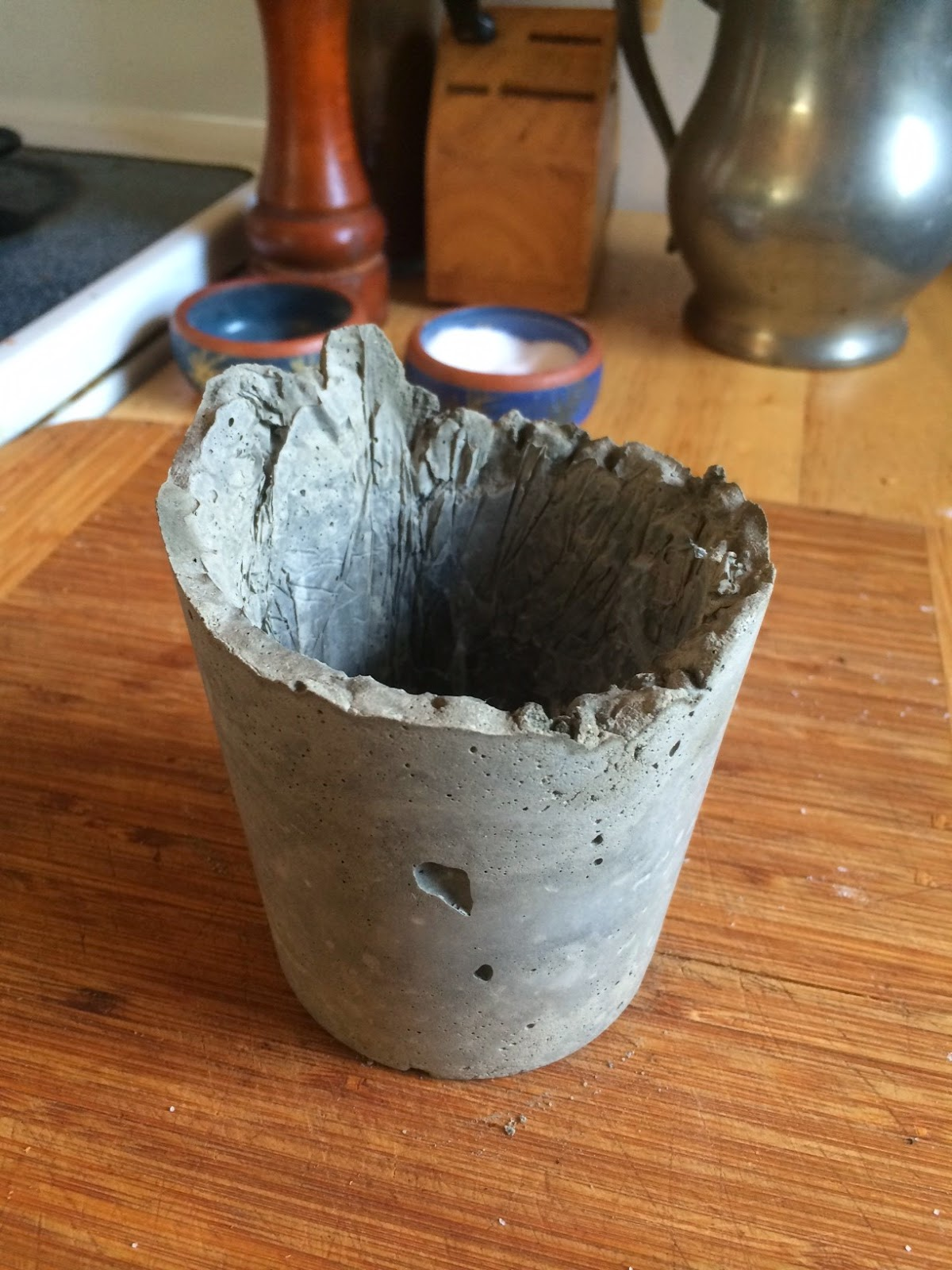 Make your own concrete planter