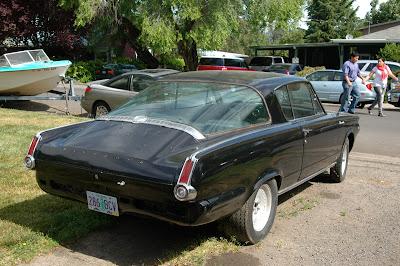 1965 Plymouth Barracuda Fastback.
