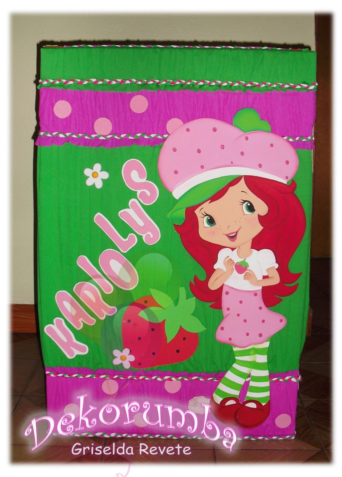 Caja de regalo de fresita - Imagui