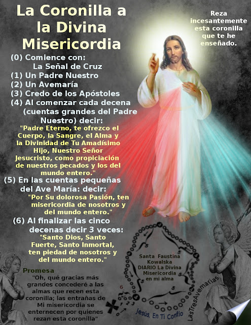 oracion divina misericordia