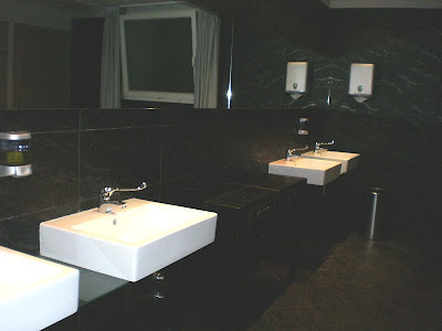 Public bathroom Savoia Regency Hotel Bologna Italy