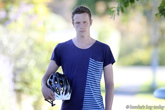 Jacob Hulme-Moir, Porirua, had his $2,500 bike stolen off the back off a car in the carpark at Hawke's Bay Hospital, Hastings, while visiting his sick grandfather. photograph