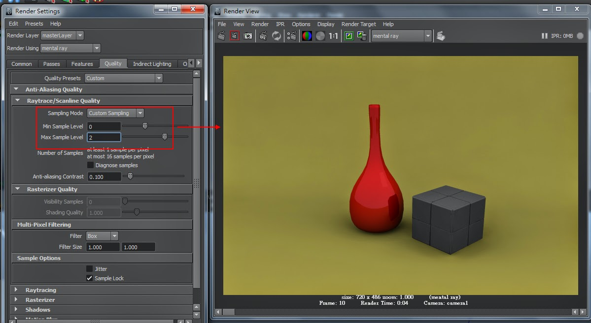 FG Render Setting in Maya 09