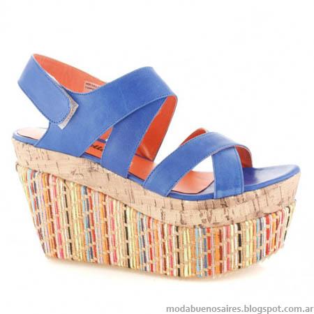 Sandalias de moda 2014. Batistella.