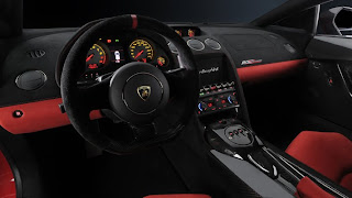 Lamborghini Gallardo LP 570-4 Interior