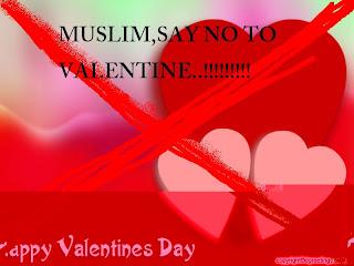 hari valentine dan pandangan mengenainya dalam Islam