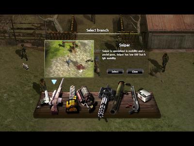 Metal Reaper Online - Branch Options