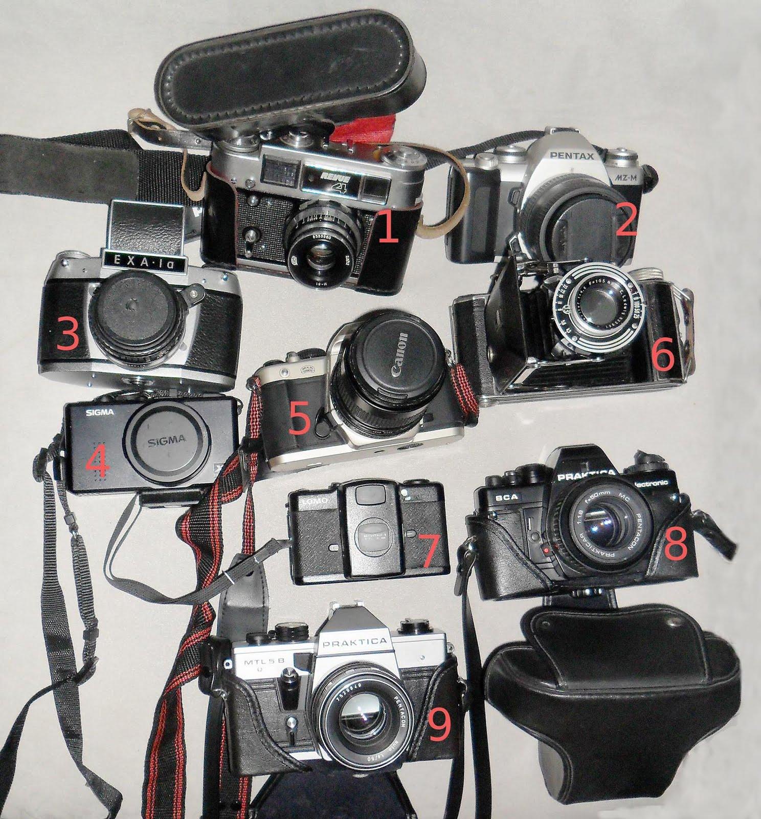Die ersten Kameras