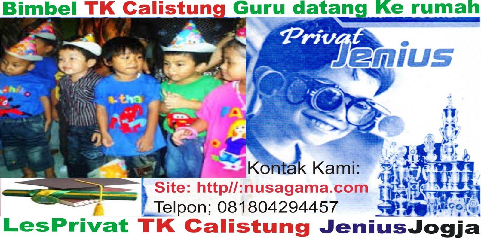 Les Calistung TK PAUD