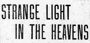 A Victorian UFO Tale?