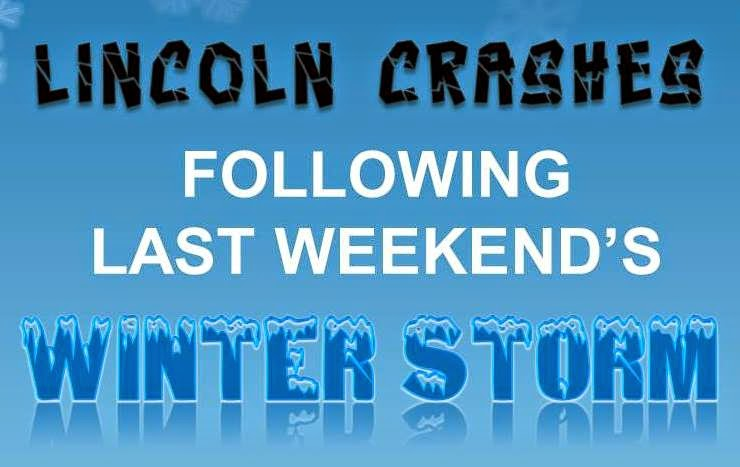 Blog Post: Lincoln Crashes Following Last Weekend's Winter Storm