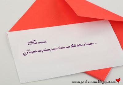 example de lettre d'amour
