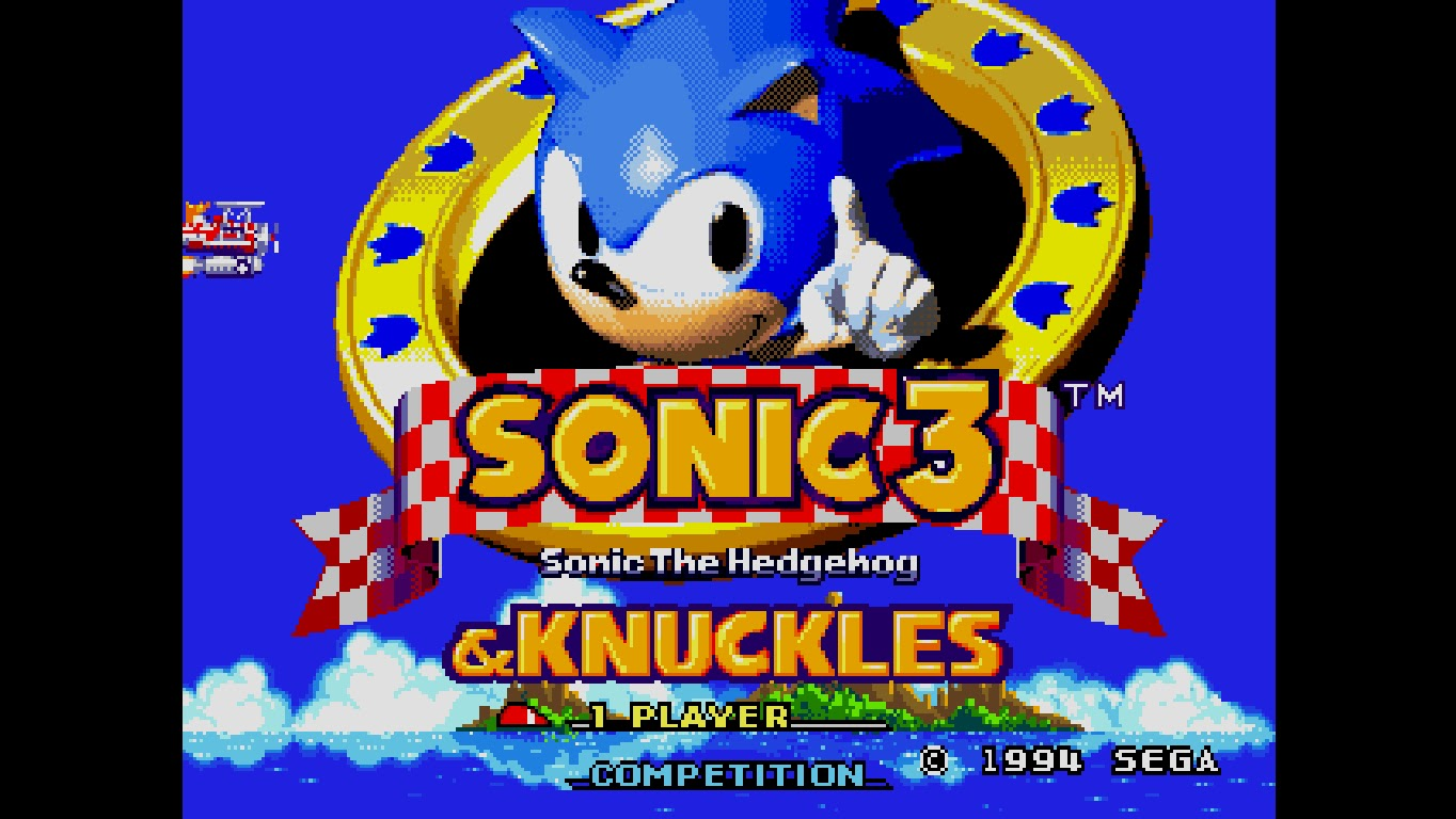 sonic 3 player games