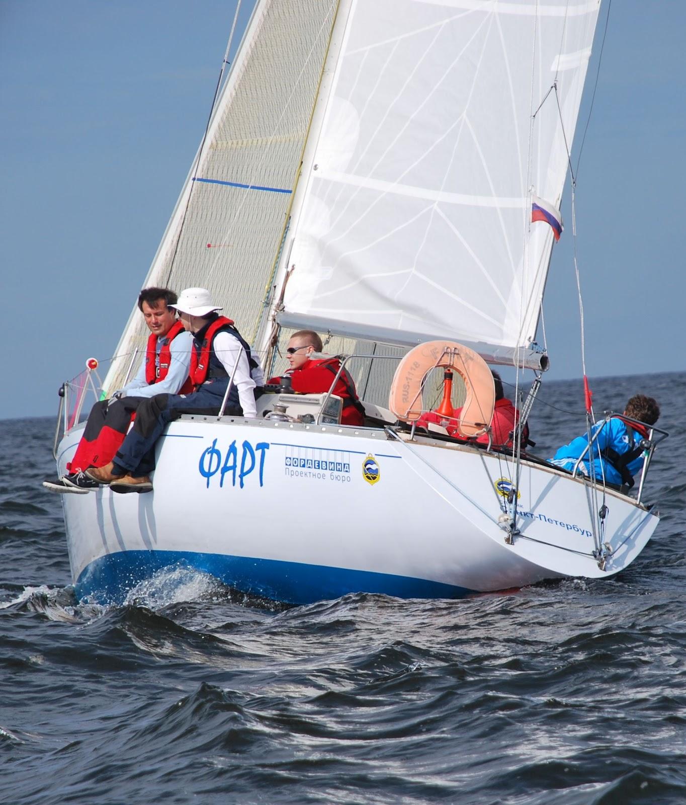 Яхта ФАРТ 1118 RUS