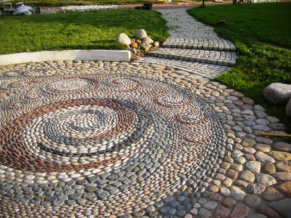 for Garden designs with stone circles