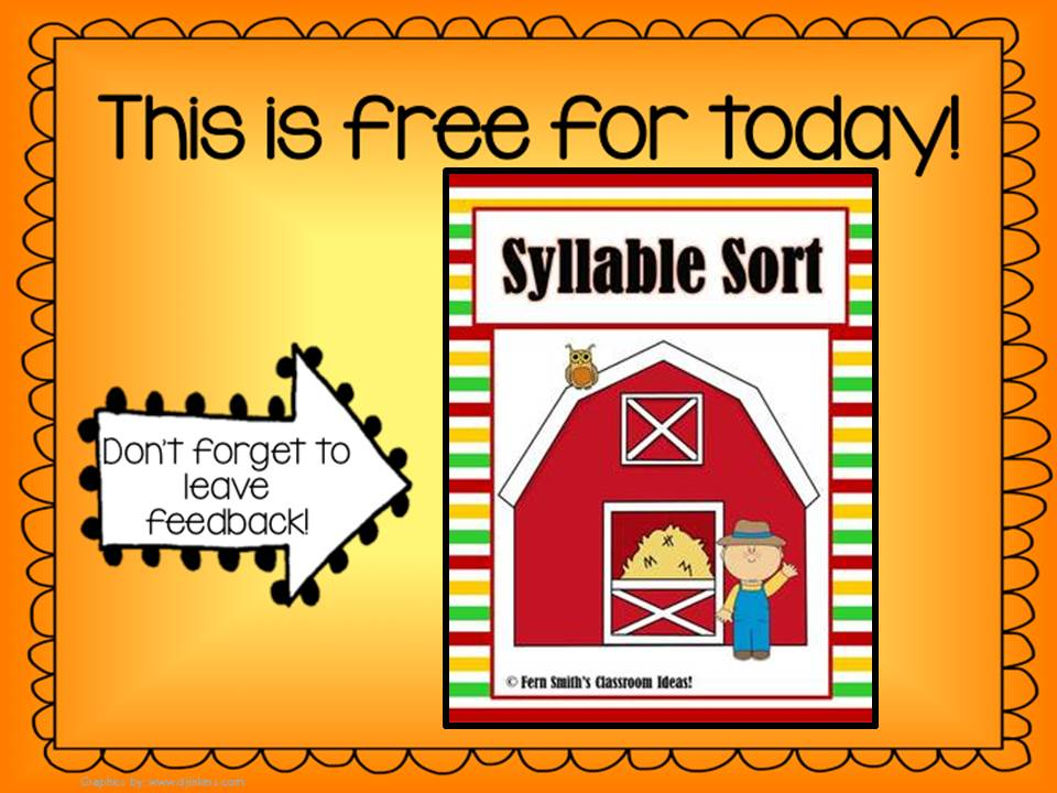 http://www.teacherspayteachers.com/Product/Syllable-Sort-Farm-Themed-Center-Game-for-Common-Core-716499