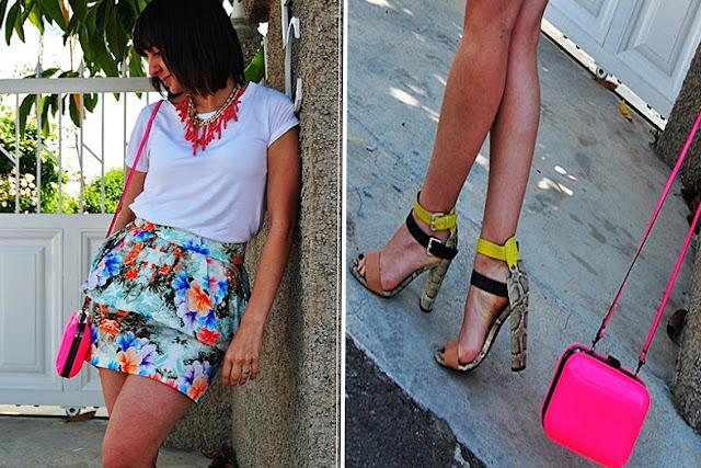 Falda peplum blogger You´re the one