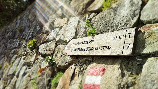 Sentiero delle ore Val Venosta