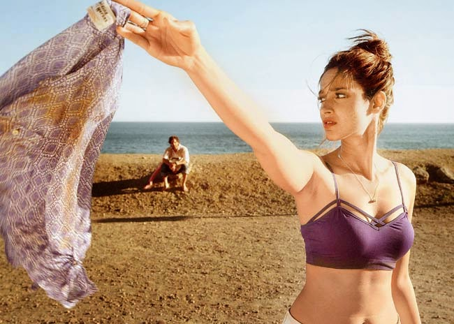 ILEANA STRIPS OFF HER TOP FOR HAPPY ENDING