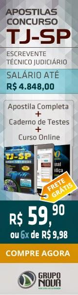 http://www.novaconcursos.com.br/apostila/impressa/tj-sp-tribunal-de-justica-de-sao-paulo/escrevente-tecnico-judiciario-impressa?acc=37693cfc748049e45d87b8c7d8b9aacd