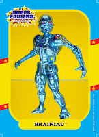 Super Powers Collection Brainiac Action Figure by Kenner Superman Super Powers Collection Figure Clark Kent Kenner Mattycollector DC Universe Classics Unlimited Man of Steel Toys Movie Masters polymerphelia GeekSummit