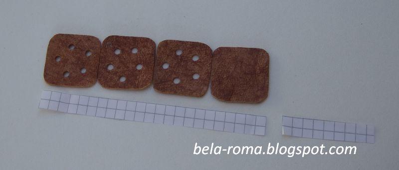 остаток справа - общая длина резинки, которую поделим на количество...