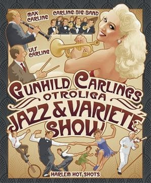 Gunhild Carling, Jazzvarité, Harlem Hot Shots, Swing, Jazz
