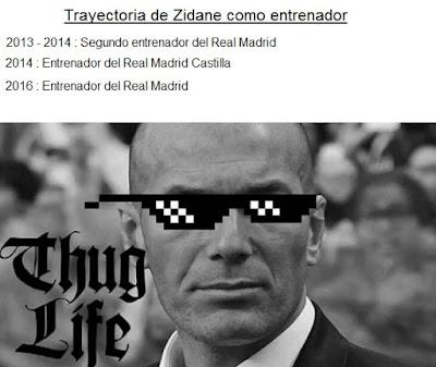Trayectoria de Zidane como entrenador