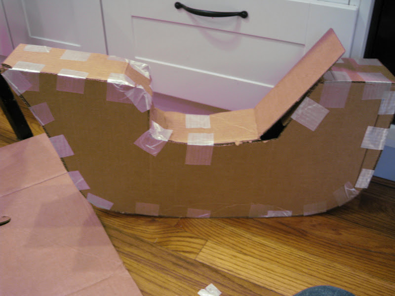 how to make something out of cardboard that is easy