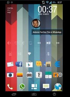 Una de las características distintivas de las ROMs Paranoid Android son sin lugar a dudas sus notificaciones flotantes. ¿Quieres llevar estas notificaciones a tu smartphone? Aquí les mostraré como hacerlo sin tener que modificar tu firmware. Paranoid Android, un nuevo grupo de desarrolladores que no sólo crean ROMs sino que están trayendo una bocanada de aire fresco en cuanto a desarrollo en Android con varias novedades y funcionalidades realmente ingeniosas. Una de las principales novedades de sus ROMs son las notificaciones, que se muestran con cabezas flotantes por encima de cualquier aplicación que estemos utilizando, al mejor estilo ChatHeads de