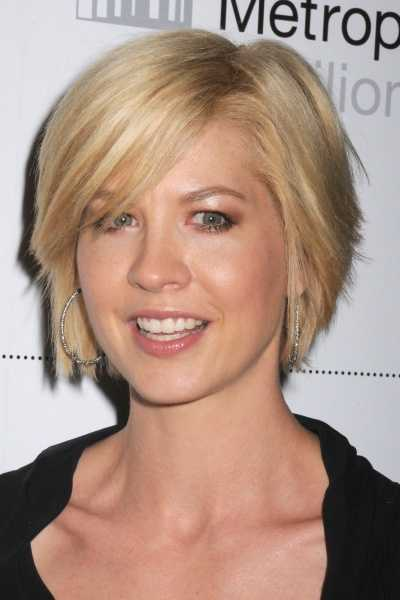 Short Hairstyle For Big Face