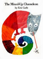 eric carle the mixed-up chameleon toddler book club